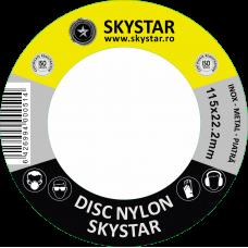 Disc Nylon 115x22.2